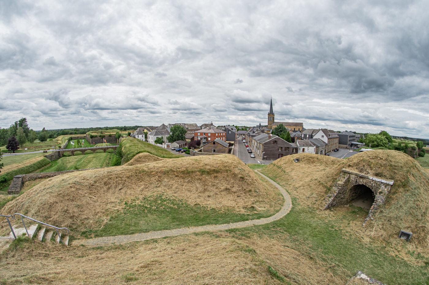 Vue de la ville de Rocroi