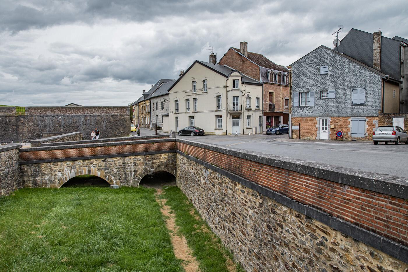 La porte de Bourgogne à Rocroi