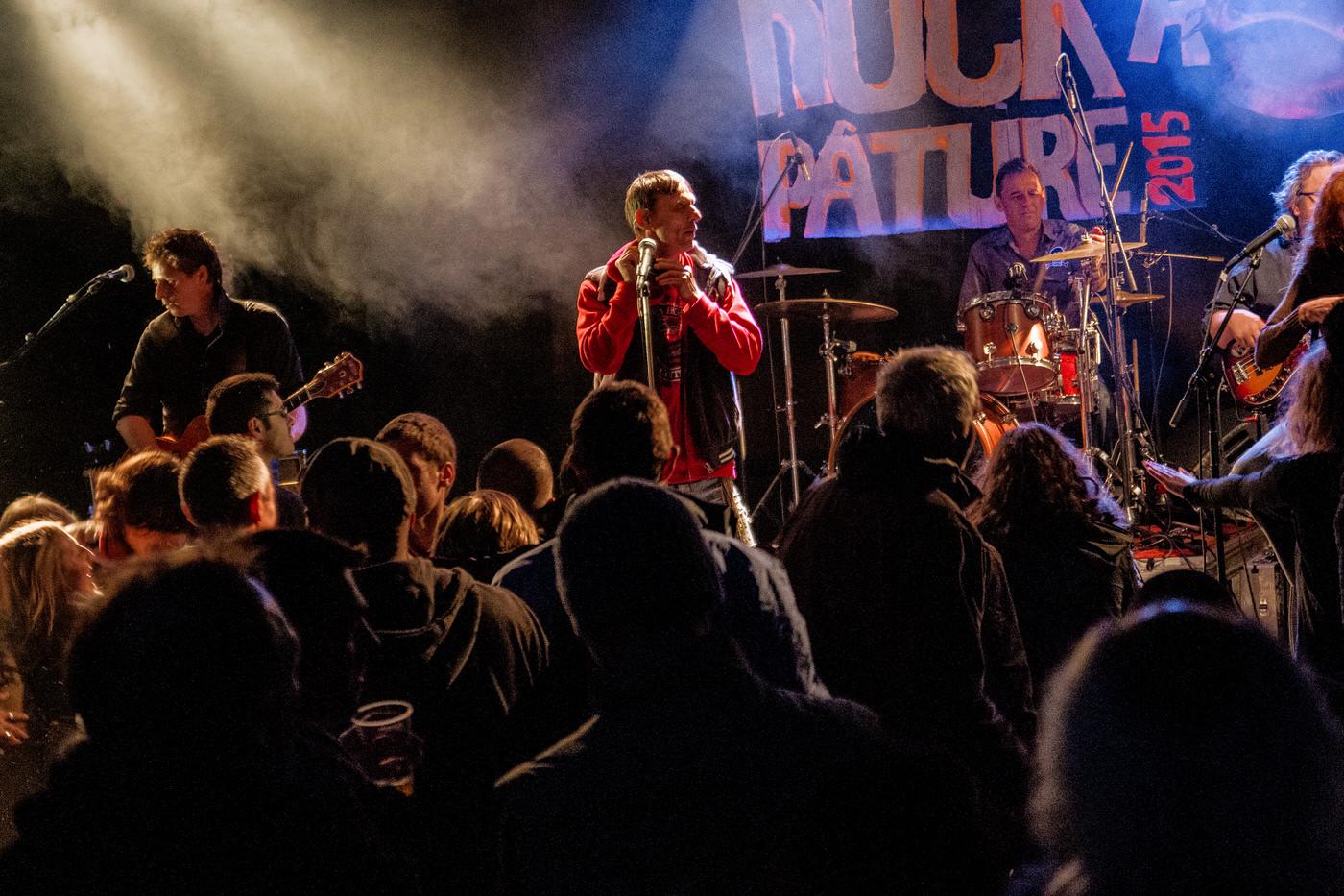 Les Naufrages en concert au festival Rock à Pature 3
