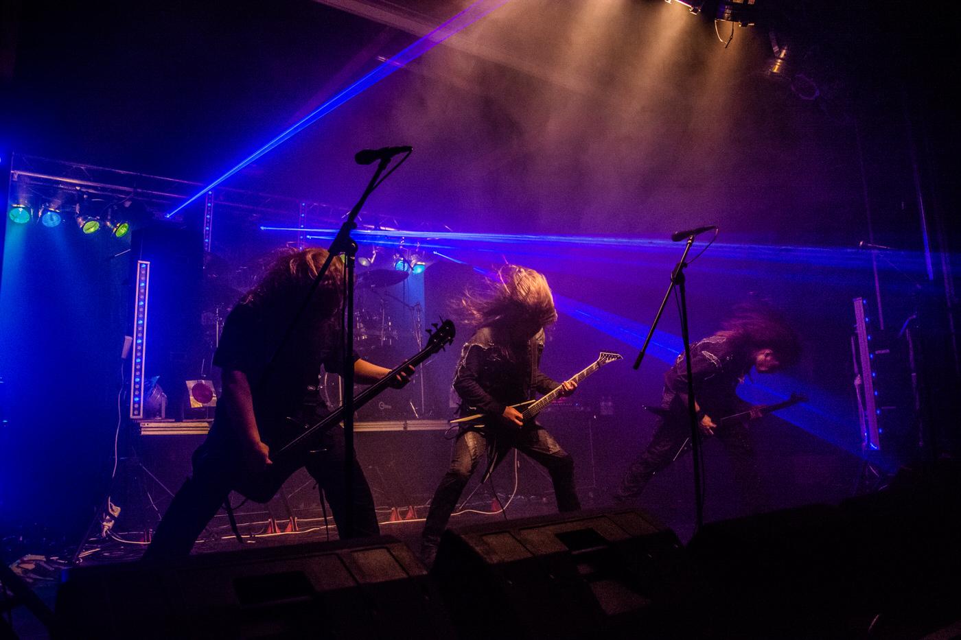 Northern Plague en concert à l'Arden' Metal Fest 9