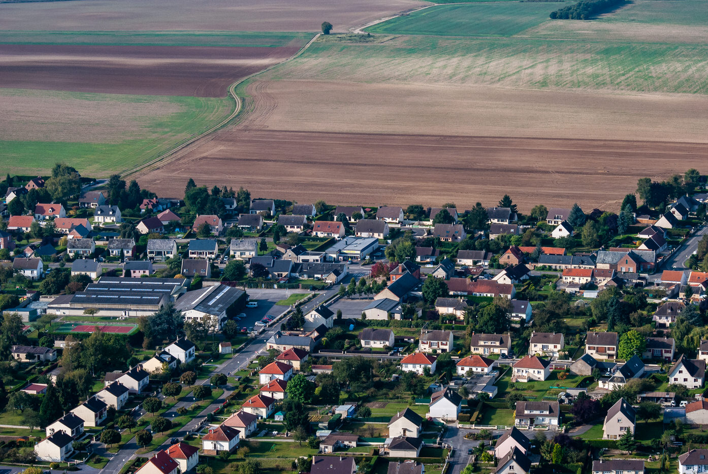 Le village de Vivaise