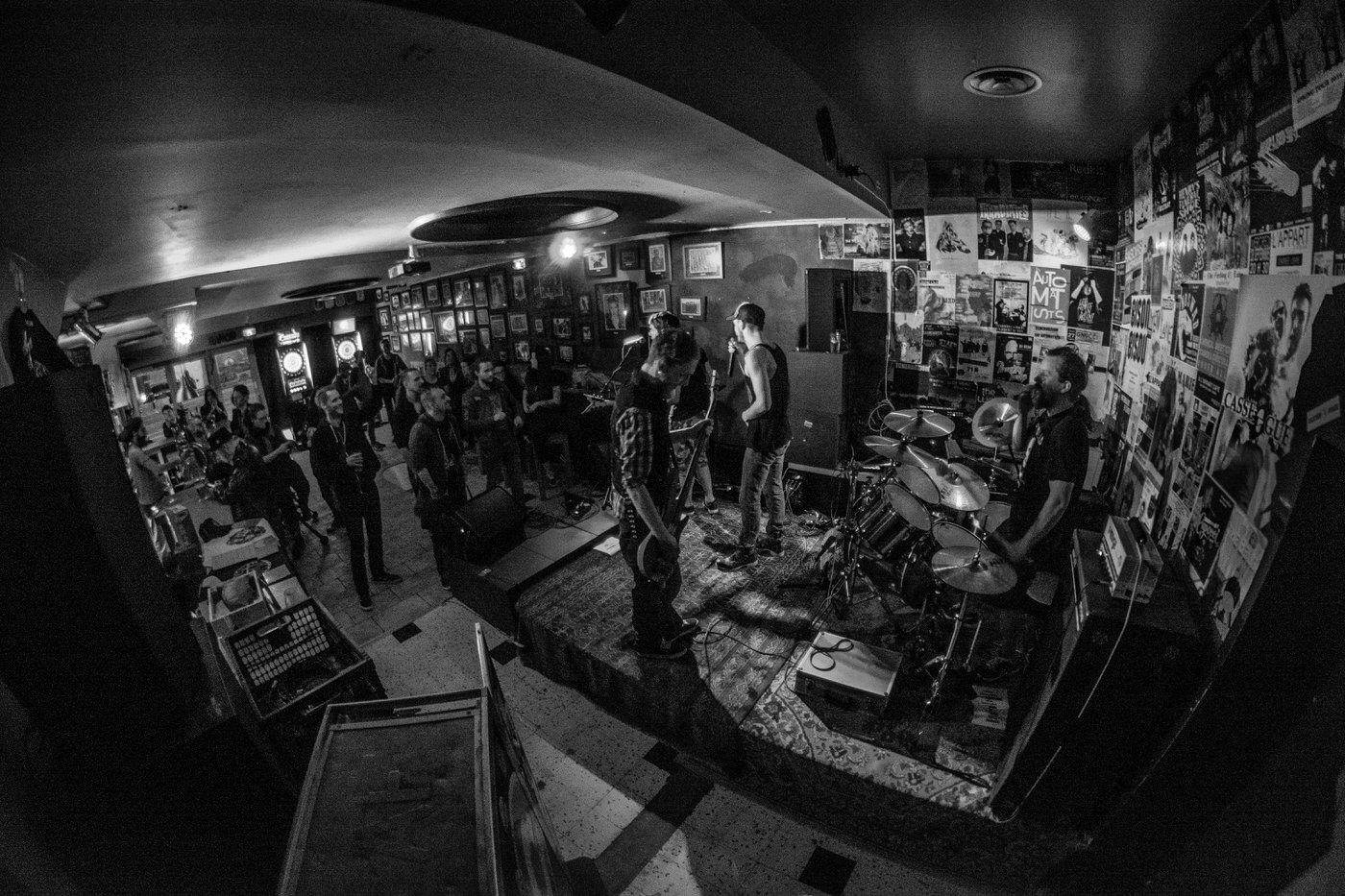 Deadwood en concert à l'AppArt Café