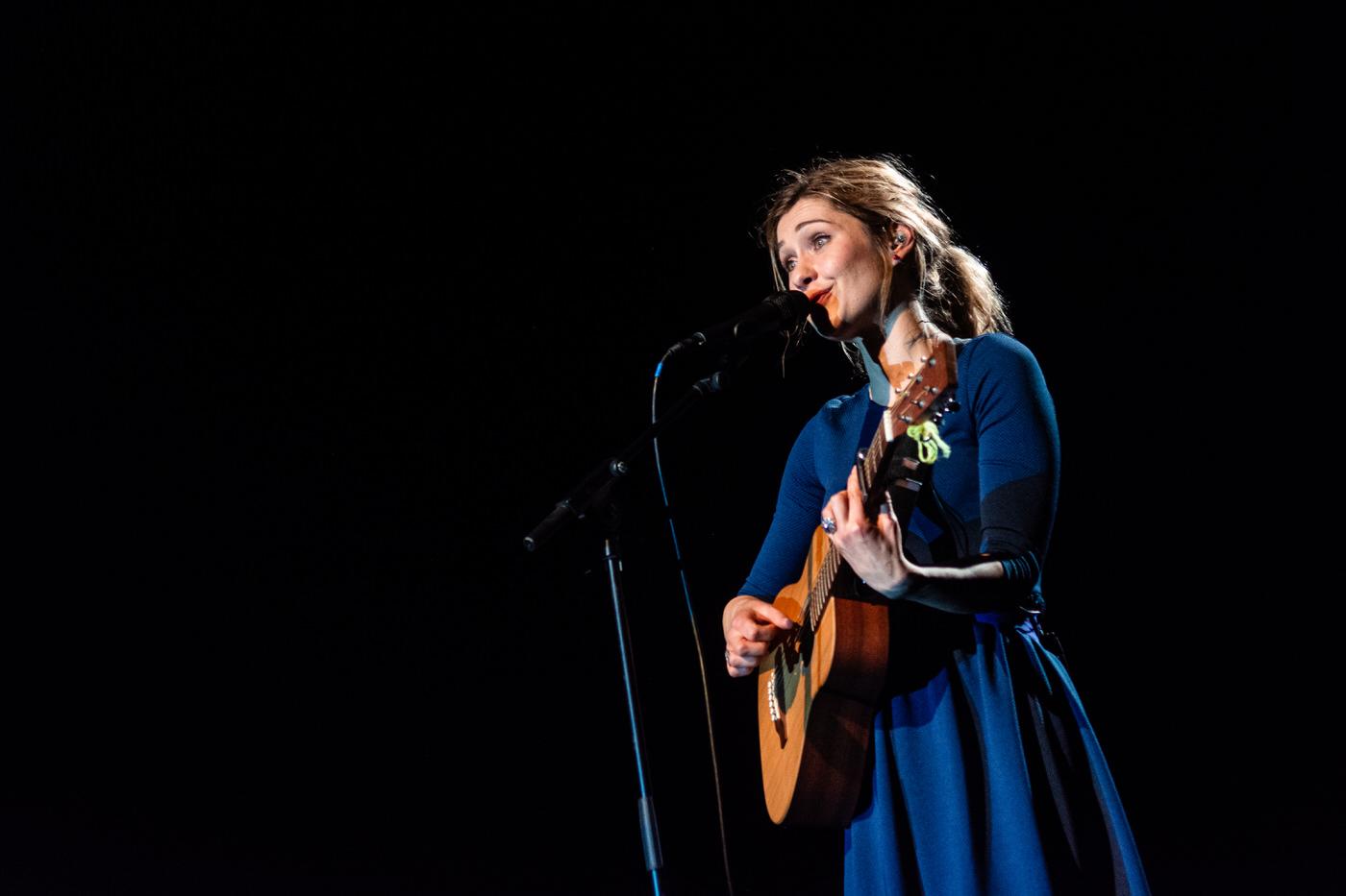 Giedre en concert au théâtre du Chemin Vert