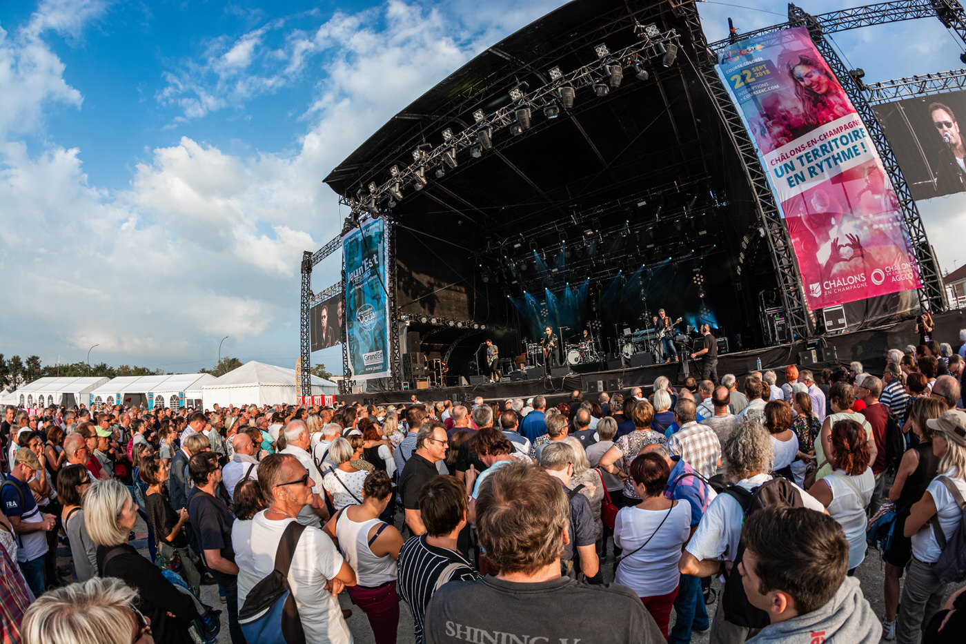 Lavilliers en concert à Foire en Scene 2018