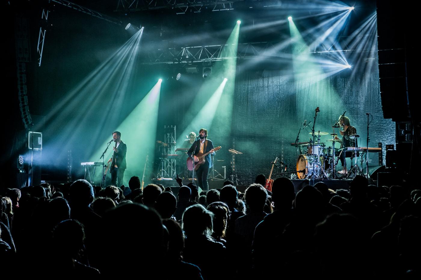 Puggy en concert lors du festival des Moissons Rock 22