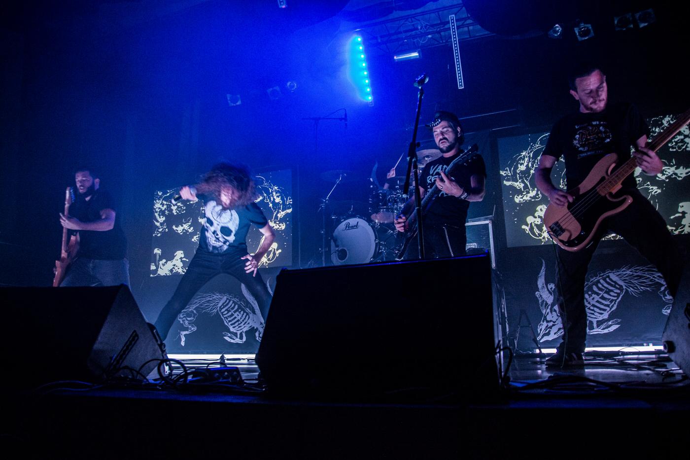 Sidilarsen en concert à Rock In Lucky